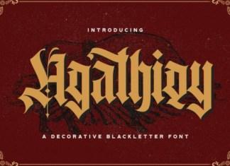 Agathiqy Font