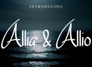 Allia & Allio Font