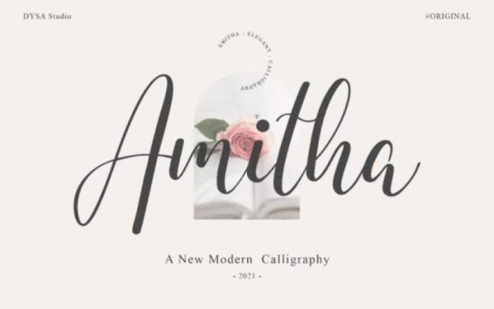 Amitha Font