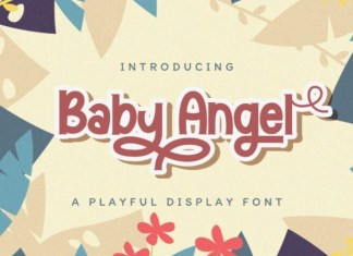 Baby Angel Font