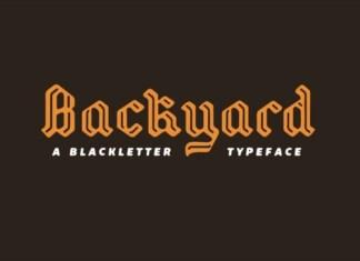 Backyard Font
