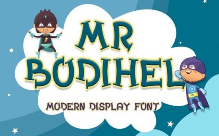 Bodihel Font