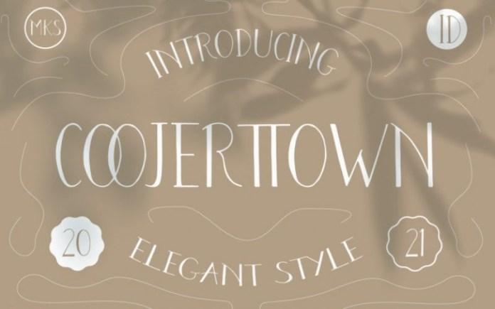 Coojertown Font