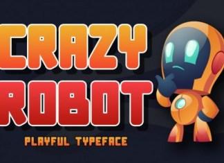 Crazy Robot Font