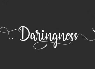 Daringness Font
