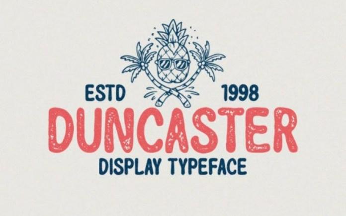 Duncaster Font