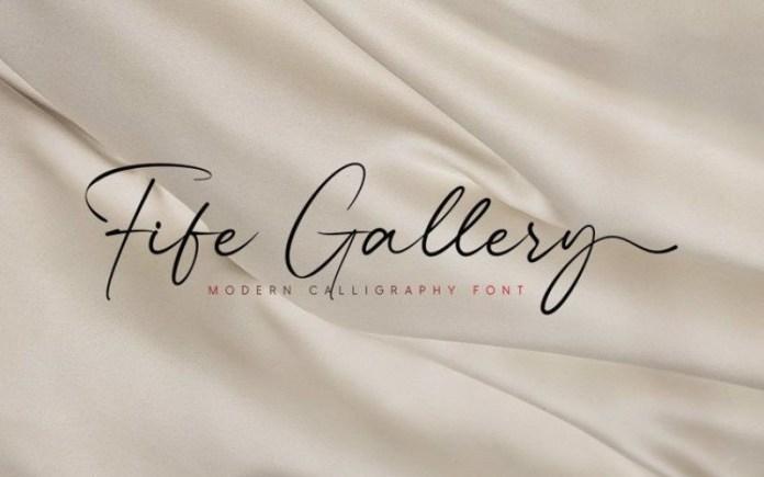 Fife Gallery Font