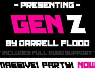 Gen Z Font