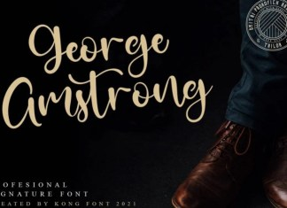George Amstrong Font