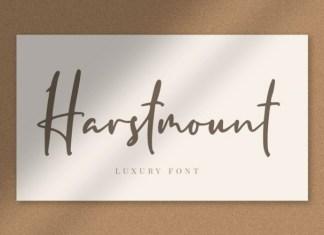 Harstmount Font