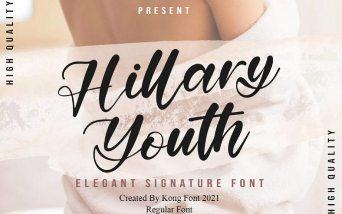 Hillary Youth Font