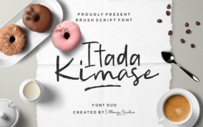 Itadaimase Font