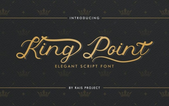King Point Font