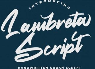 Lambreta Font