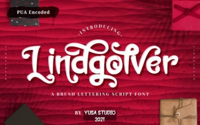 Lindgolver Font