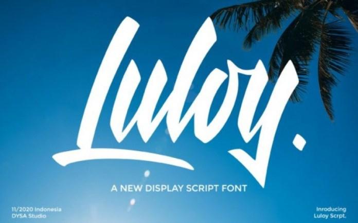 Luloy Font