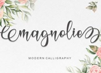 Magnolie Font