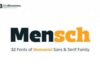 Mensch Font