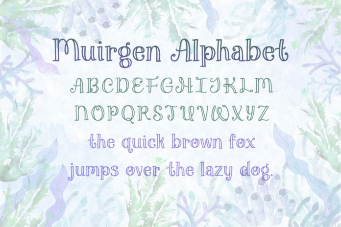 Muirgen Font