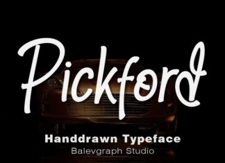 Pickford Font