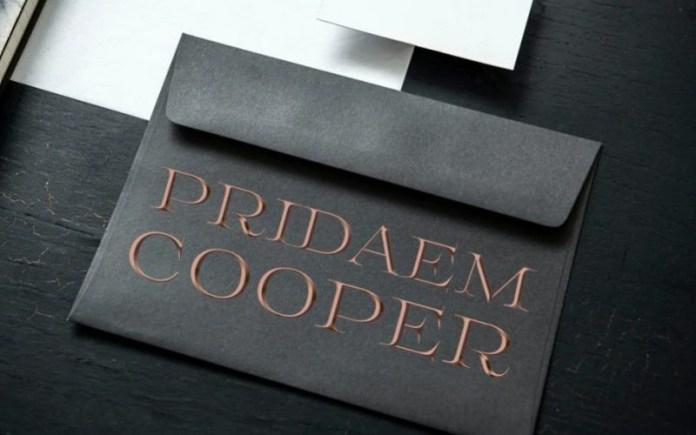 PridaEm Cooper Font