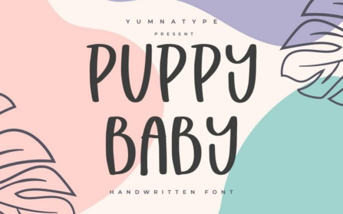 Puppy Baby Font