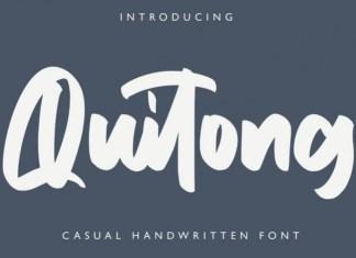 Quitong Font