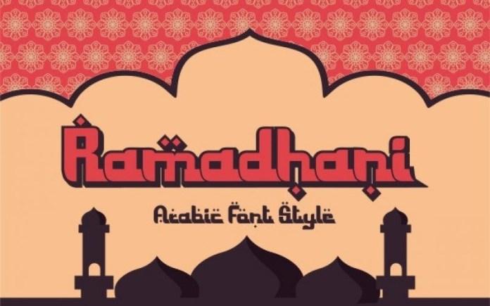 Ramadhani Font