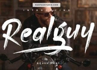 Realguy Font