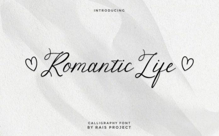 Romantic Life Font