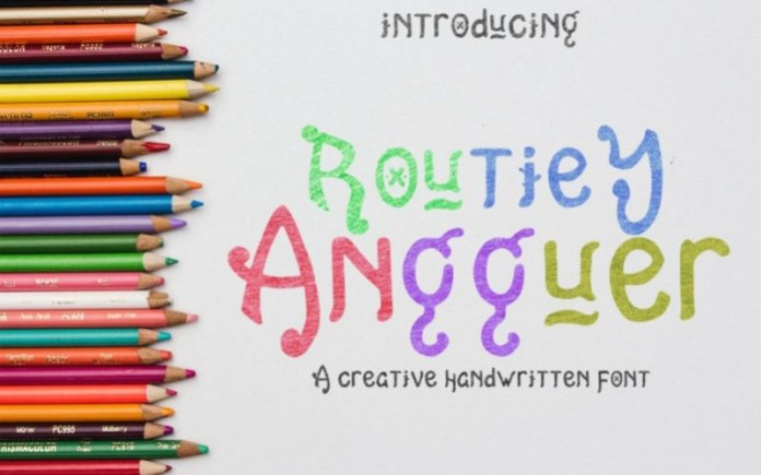 Routiey Angguer Font