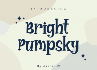 Bright Pumpsky Font