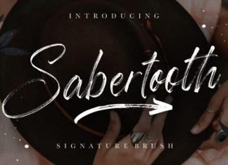 Sabertooth Font