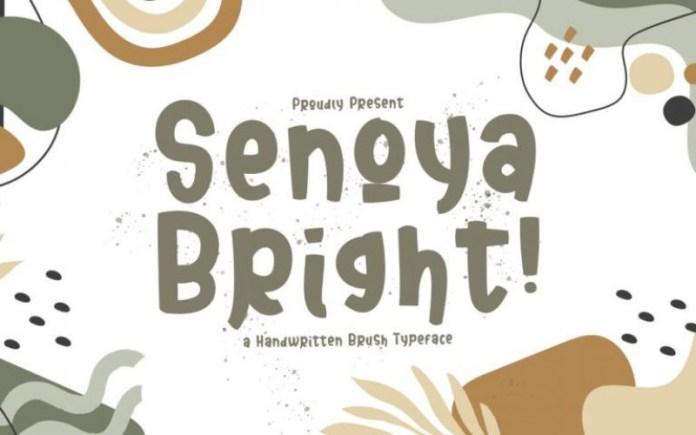 Senoya Bright Font