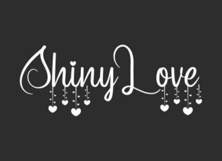 Shiny Love Font
