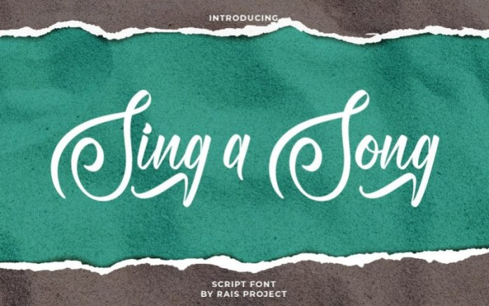 Sing A Song Font