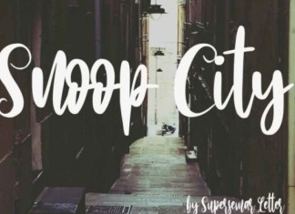 Snoop City Font