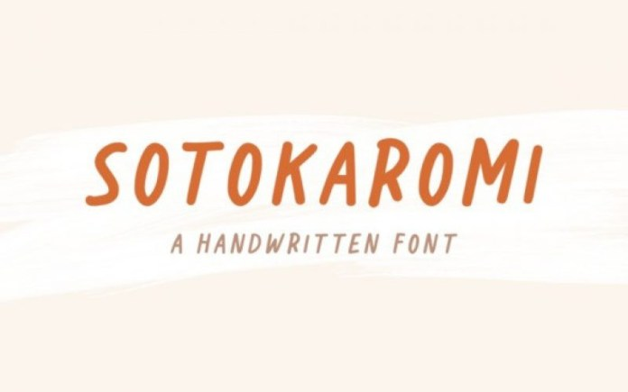 Sotokaromi Font
