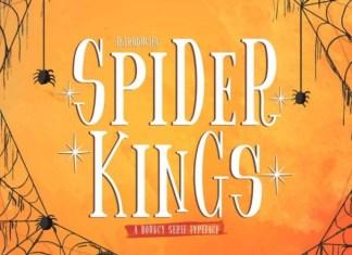 Spider King Font