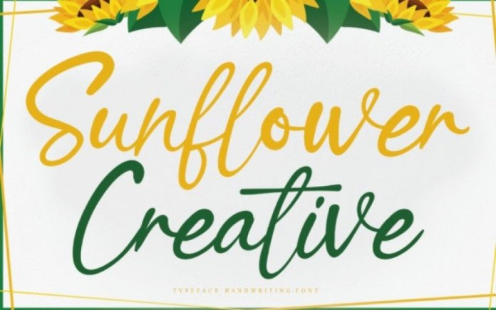 Sunflower Creative Font