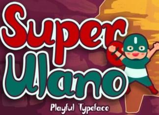 Super Ulano Font