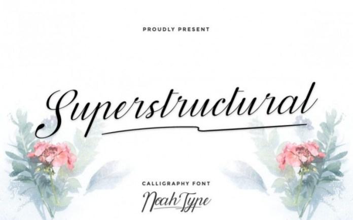 Superstructural Font