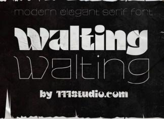 Walting Font