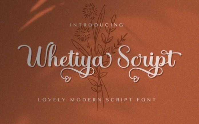 Whetiya Font