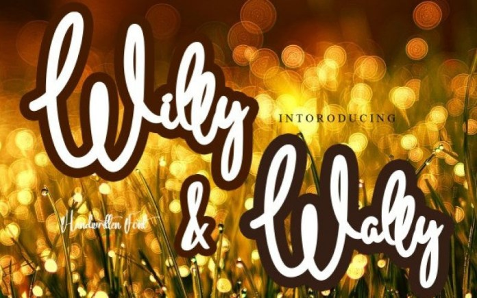 Willy & Wally Font
