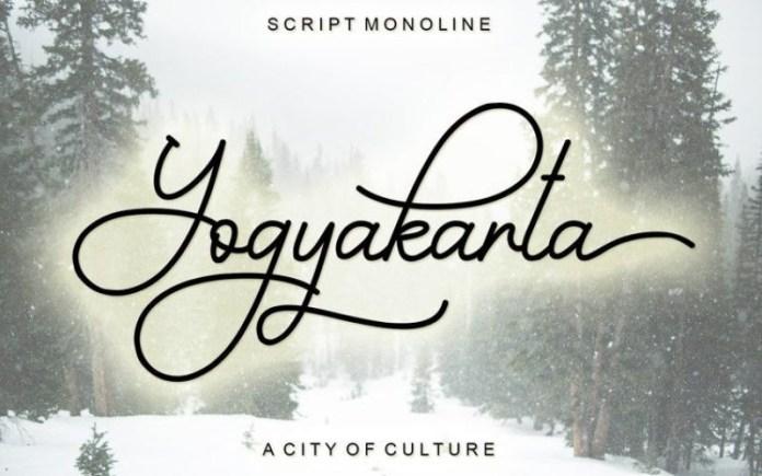 Yogyakarta Font