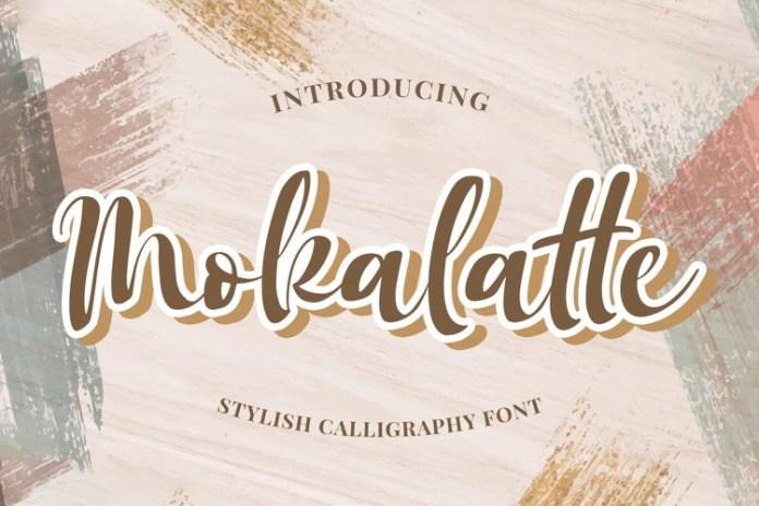 Mokalatte Script Font