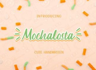 Mochalosta Script Font