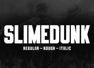 SLIMEDUNK Display Font