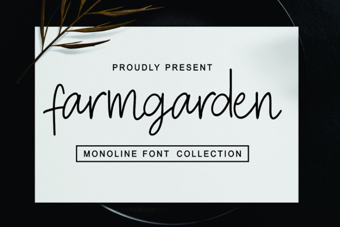 Farmgarden Handwritten Font